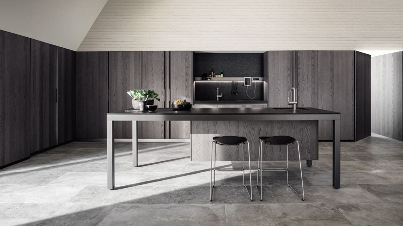 Cuisine Banco Graphite Oak
