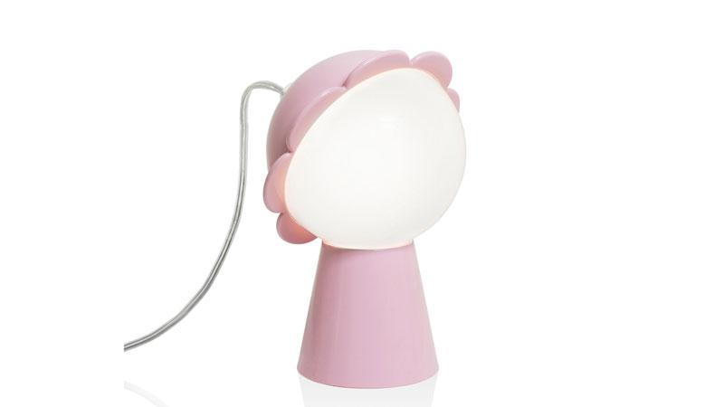 Daisy Lamp Pink by Nika Zupanc