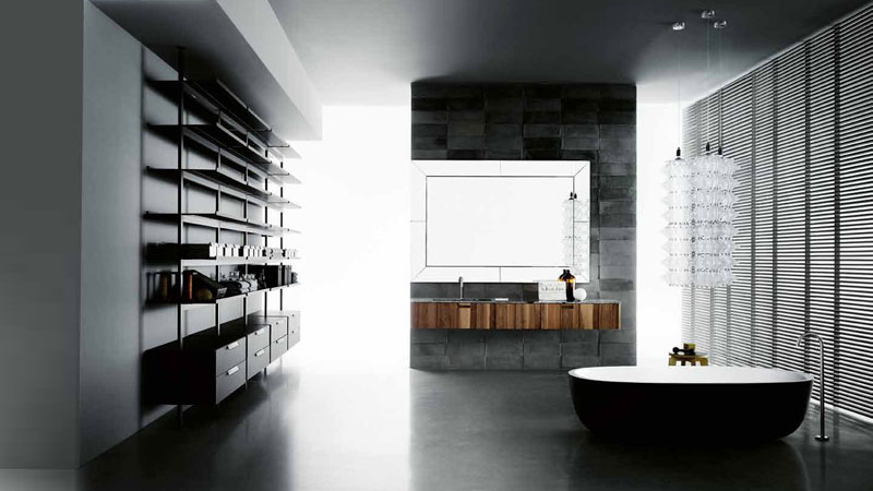 boffi bathrooms design und produkte designbest. Black Bedroom Furniture Sets. Home Design Ideas