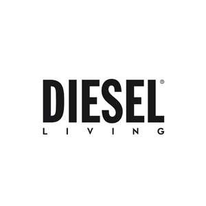 Logo Diesel Living With Moroso