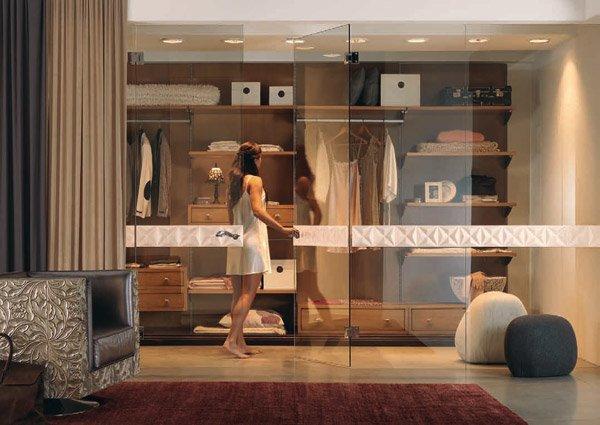 Cabine armadio cabina armadio b da bizzotto - Cabina armadio dietro al letto ...