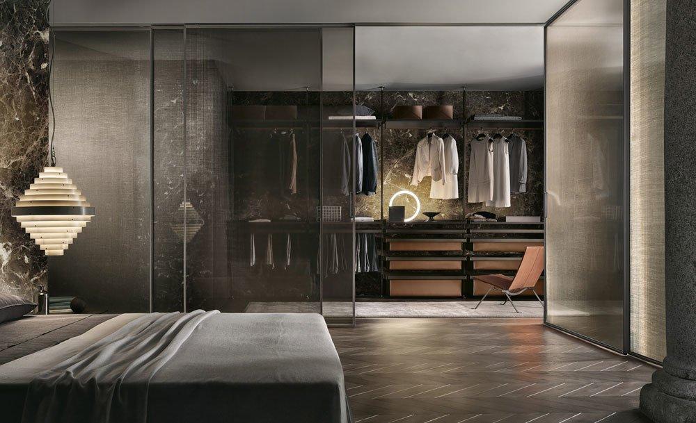 rimadesio begehbare schr nke begehbarer schrank zenit. Black Bedroom Furniture Sets. Home Design Ideas
