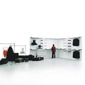 Cabina armadio Saint Germain da Boffi - storage systems