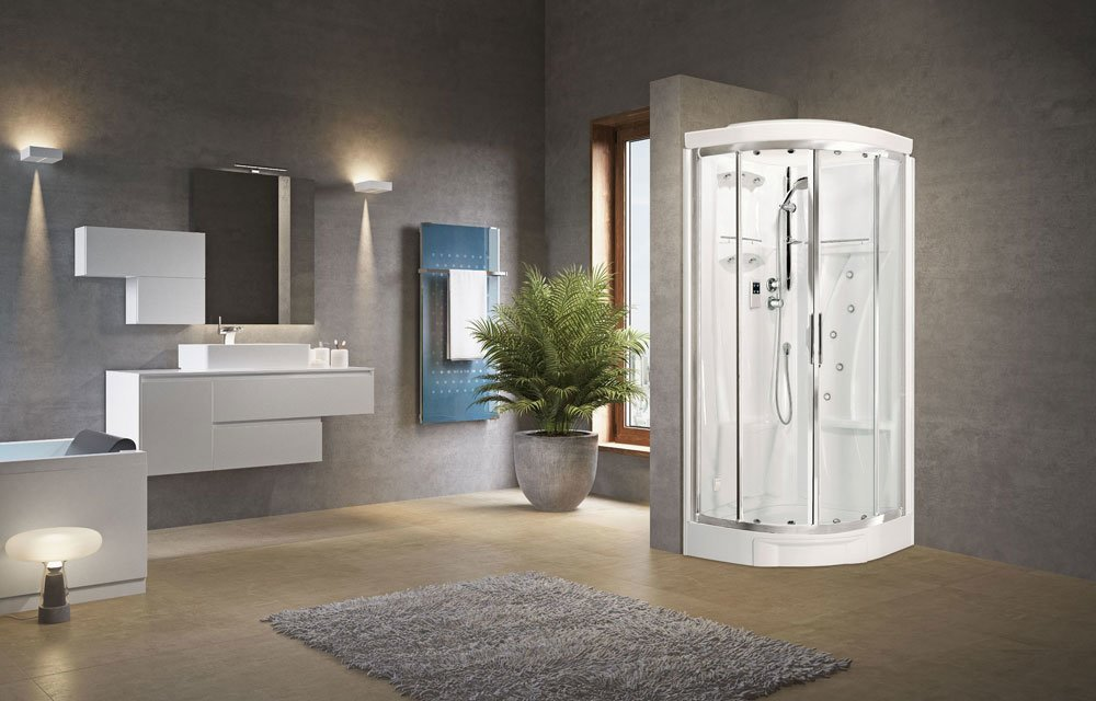 Cabina doccia New Holiday R 90 - Novellini