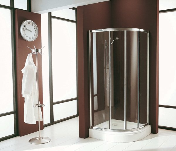 Cabine doccia cabina doccia blues da titan - Cabine doccia in muratura ...