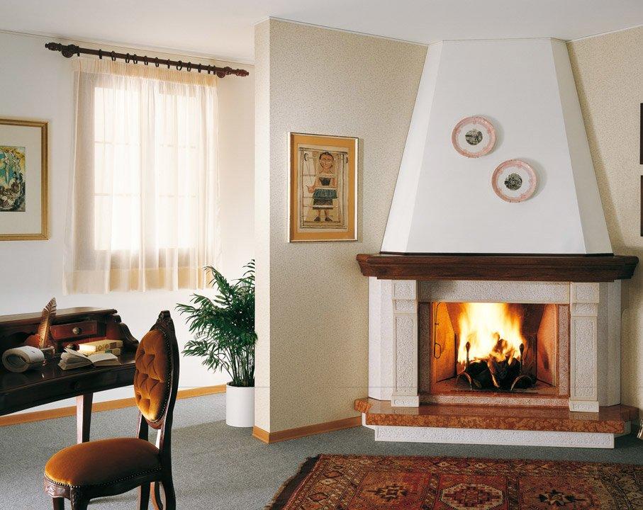 Idee arredamento soggiorno con camino ~ neburisky.net