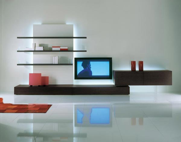 Moderne Wohnwand Lackiert New Concepts Bases By Lodovico Acerbis HD U003d  Moderne Wohnwand Sideboard