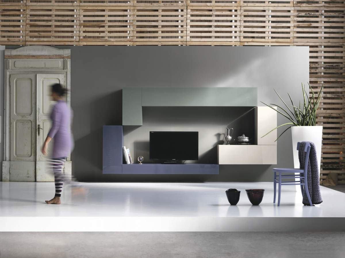 Soggiorno Lago Design : Floating TV Wall Units