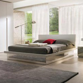 Letto Shadow White Natura