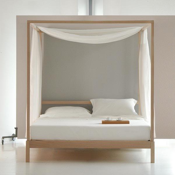 Letto Nuovo D-Letto Baldacchino - Camera da letto