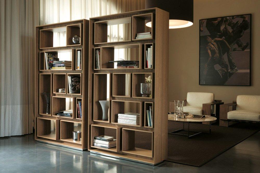 Librerie e scaffali libreria first da porada for Librerie design outlet