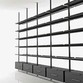 Libreria Brompton da Boffi - storage systems