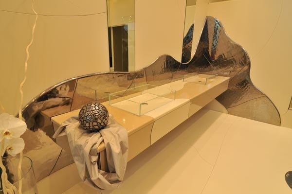 mobilier murs et sol en lave emaill e cr ateur de salle de bain. Black Bedroom Furniture Sets. Home Design Ideas