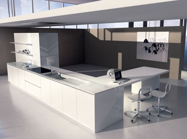 Mobili per cucina: Cucina Monos [a] da Del Tongo