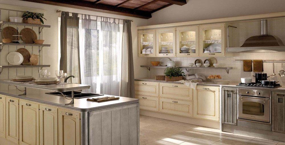 Mobili per cucina cucina thuia da gatto cucine for Gatto cucine