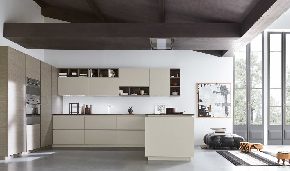 Pensili Cucina Firenze: Minimal line dropped varenna kitchens. Cucina ...