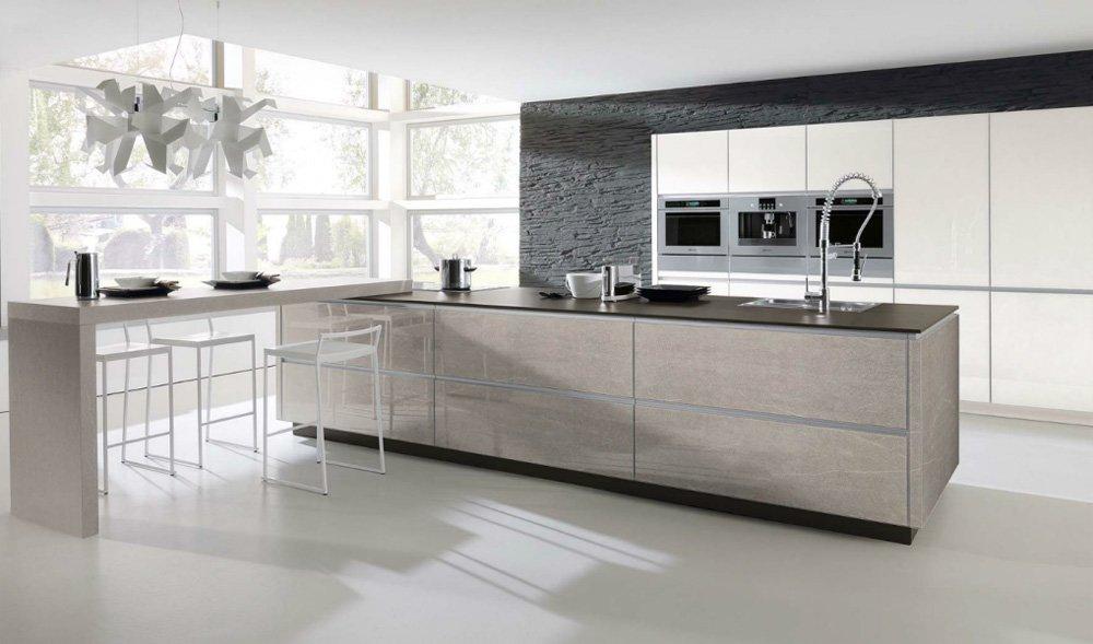 Mobili per cucina cucina alnoart stoneglass da alno - Cucine tedesche alno ...