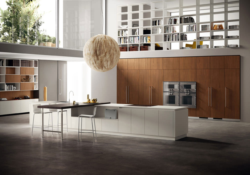 Top cucina ceramica: cucina scavolini liberamente vetro