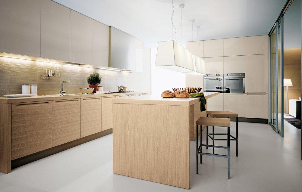 Modular kitchens kitchen minimal d by varenna poliform for Minimal cucine