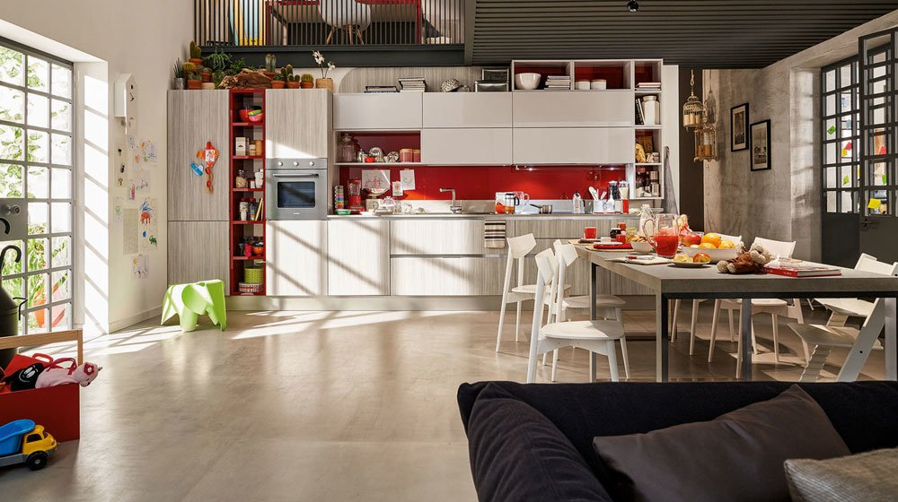 Mobili per cucina cucina carrera go b da veneta cucine for Veneta cucine bolzano