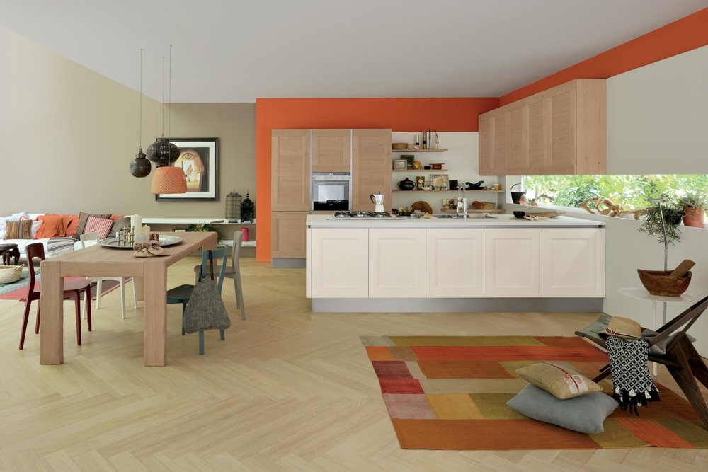 Mobili per cucina cucina dialogo b da veneta cucine for Veneta cucine bolzano