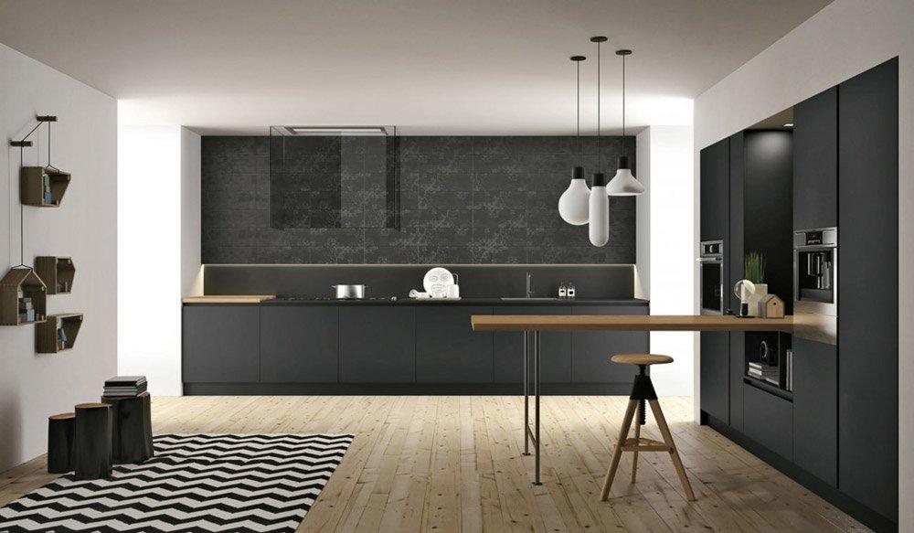 ... differenti però dai non dirmi che non è bellerrima la cucina nera