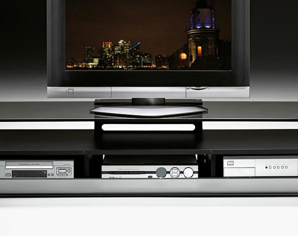 tv and entertainment unit stands tv stand kristal by fiam. Black Bedroom Furniture Sets. Home Design Ideas