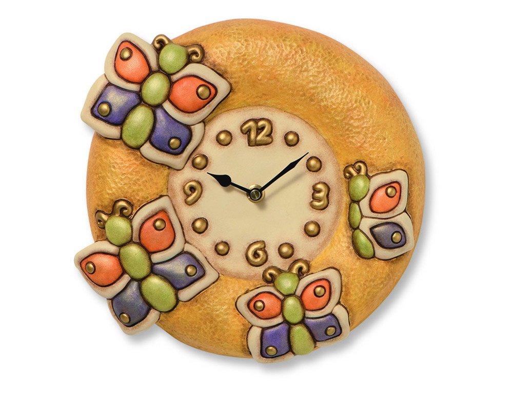 Orologeria orologio farfalle da thun for Thun orologio da parete