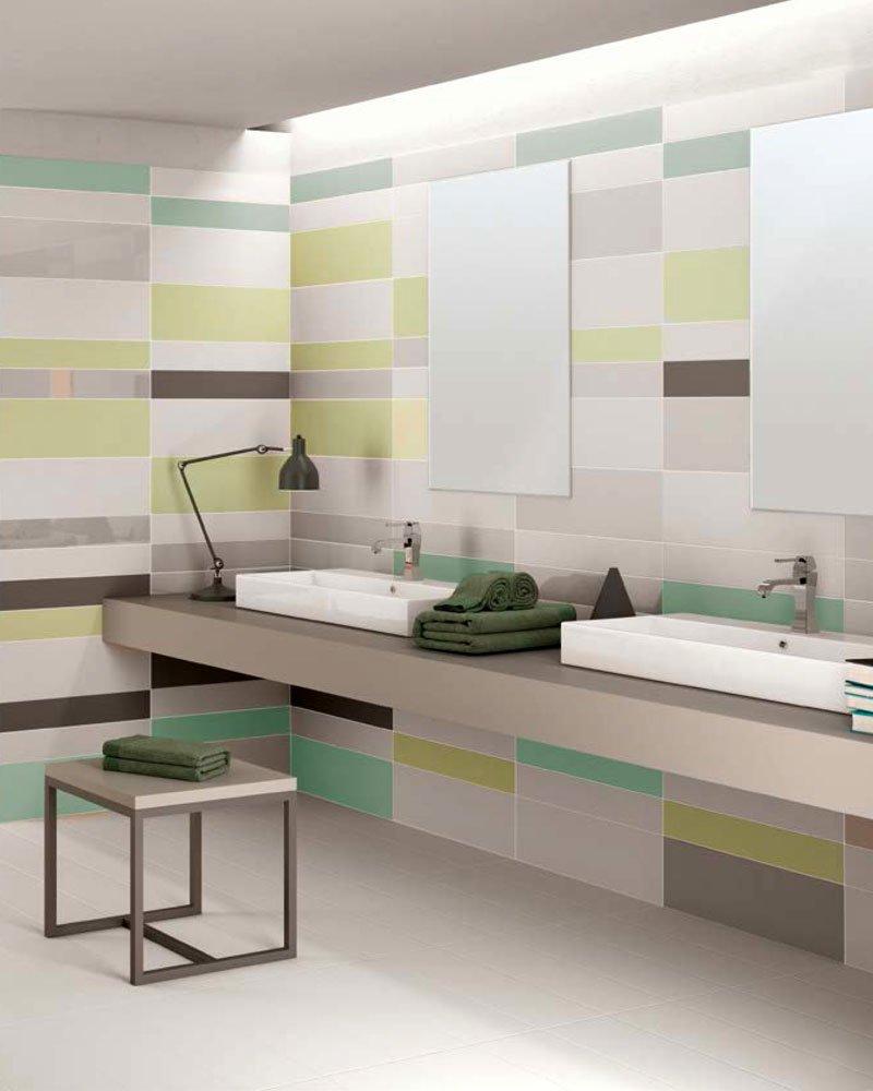 Soggiorno moderno kubo - Piastrelle da bagno moderne ...