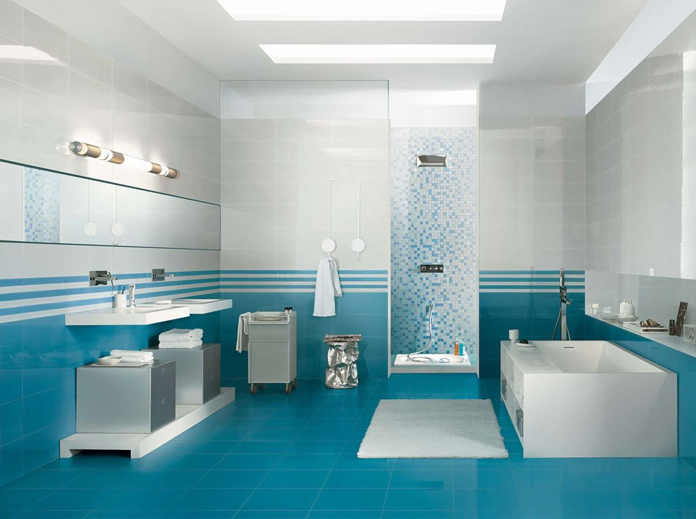 Bagno Piastrelle Azzurre ~ duylinh for