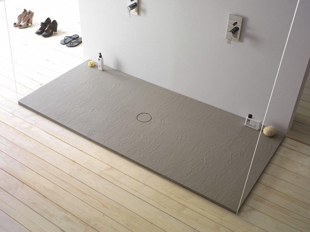 Shower trays shower tray docciardesia by ceramica globo - Shallow shower tray ...