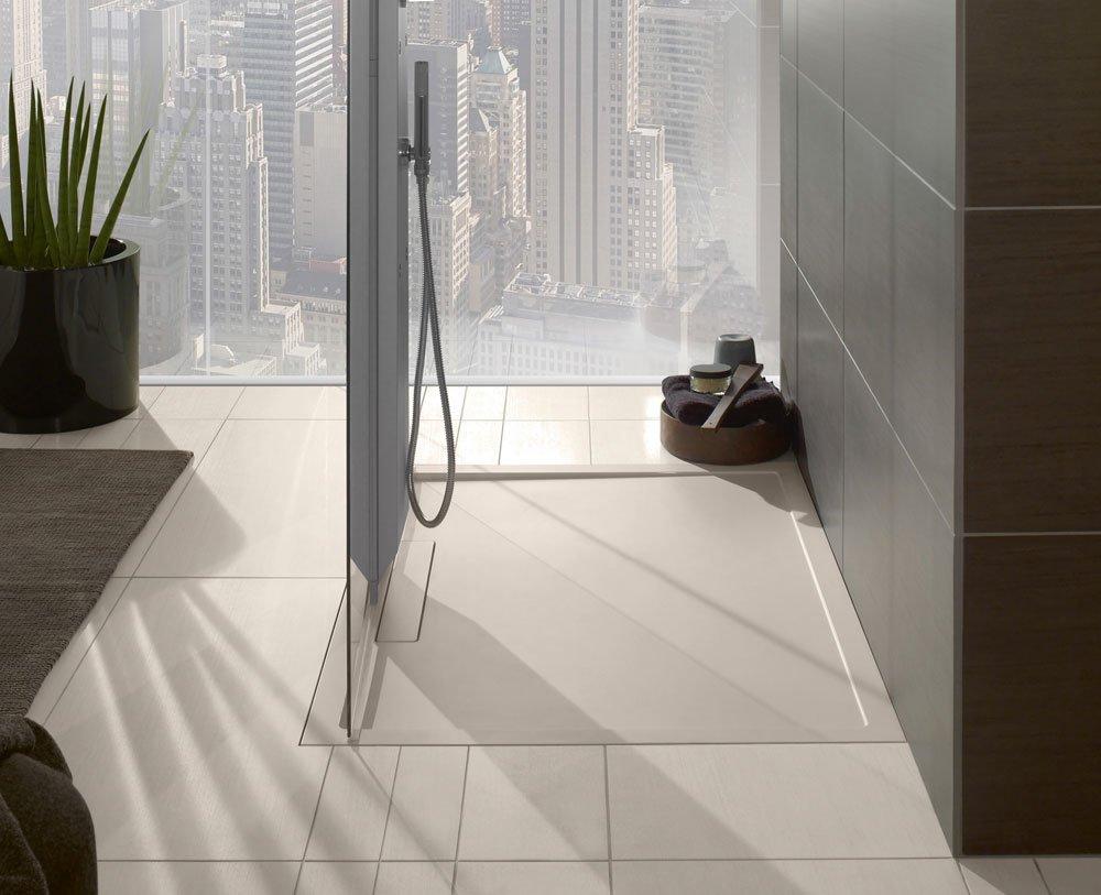 piatti doccia piatto doccia squaro da villeroy boch bagno. Black Bedroom Furniture Sets. Home Design Ideas