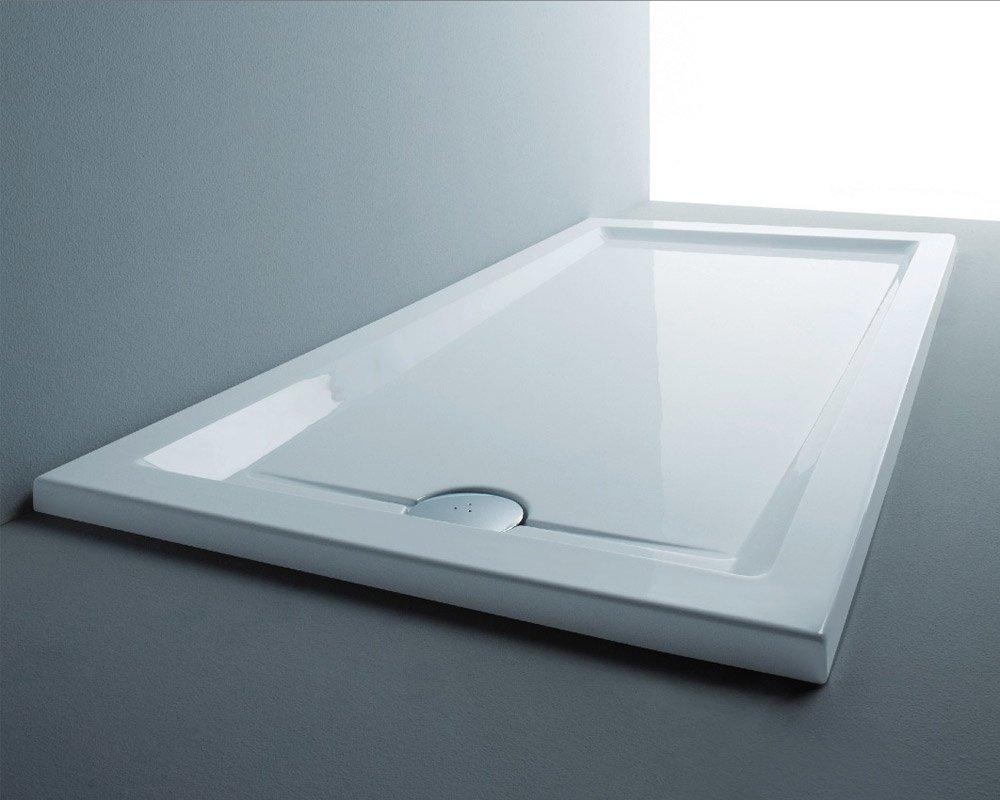 Piatto doccia marche boiserie in ceramica per bagno - Piatto doccia in resina o ceramica ...