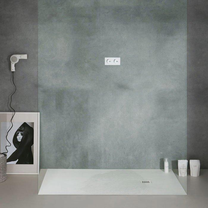 Piatti doccia piatto doccia collezione 25 da ceramica cielo - Piatto doccia marmogres ...