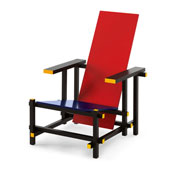 Fauteuil Red and Blue