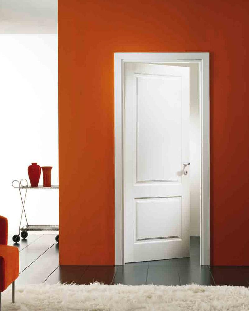 Porte a battente porta mirabilia desta da garofoli - Porte da interno bianche ...