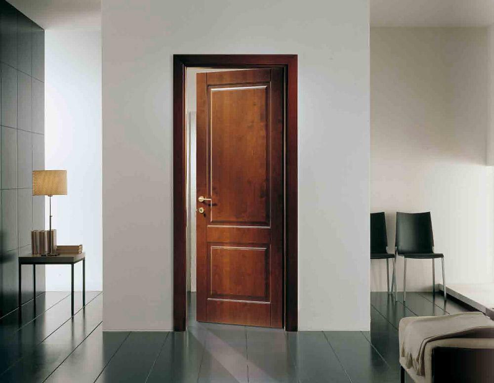 Porte a battente porta mirabilia timber ebla da garofoli for Garofoli porte