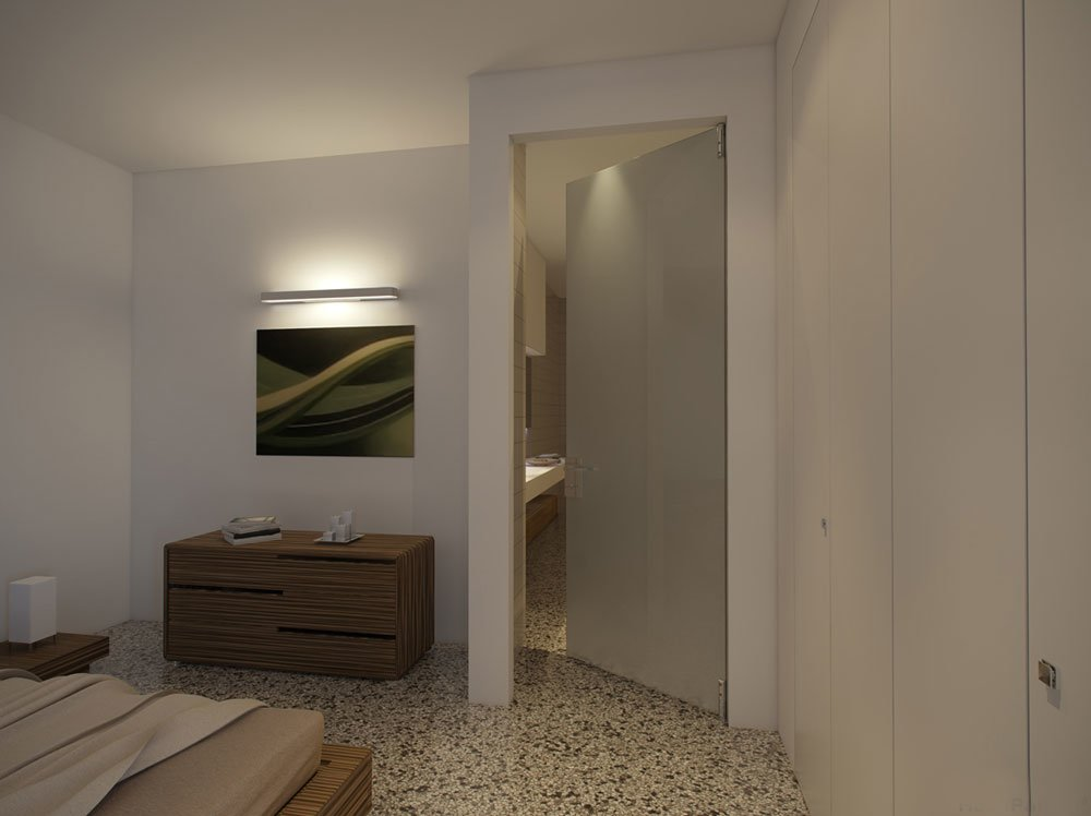 Parete in cartongesso porta parete in cartongesso con - Porte a parete ...