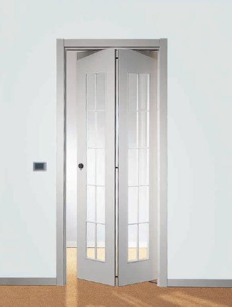 Porte a battente porta libro da tre p tre pi - Porte con specchio ...