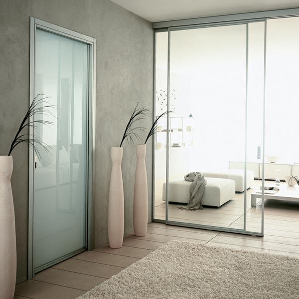 Porte scorrevoli in vetro cucina nk66 regardsdefemmes - Porte scorrevoli per interni ...