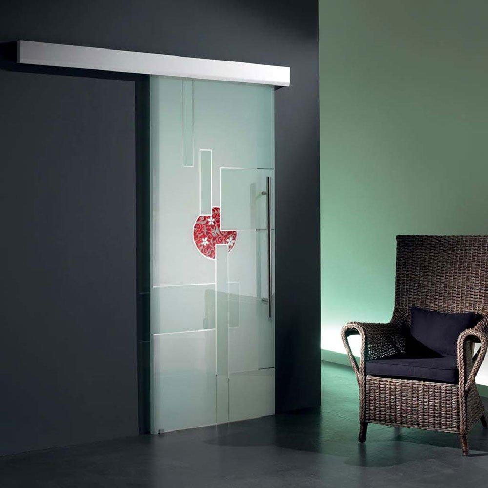 Porte scorrevoli in vetro tutte le offerte cascare a - Porta in vetro scorrevole ...