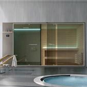 Hammam con doccia integrata + sauna Ethos