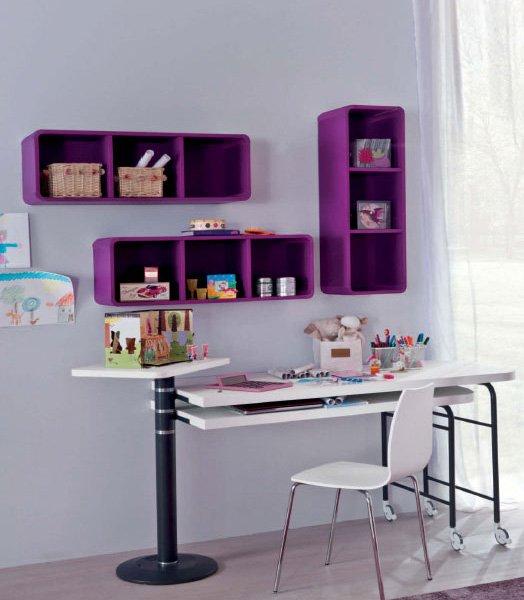 Scrivania con libreria tutte le offerte cascare a fagiolo - Scrivanie camerette ikea ...