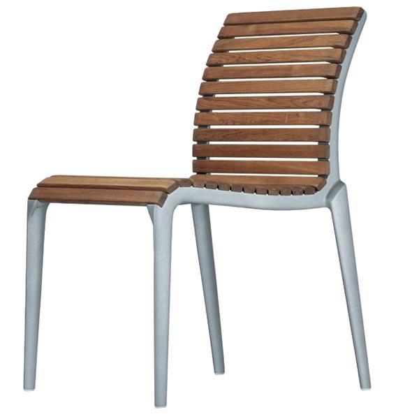 Sedie da giardino sedia teak da alias for Sedie design vicenza