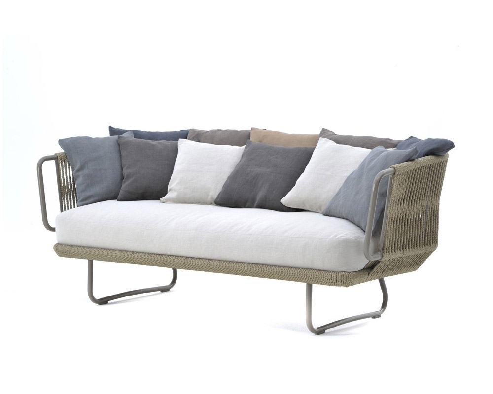 Arredamento Esterno Obi: Esterno linea divano sof? nero per.