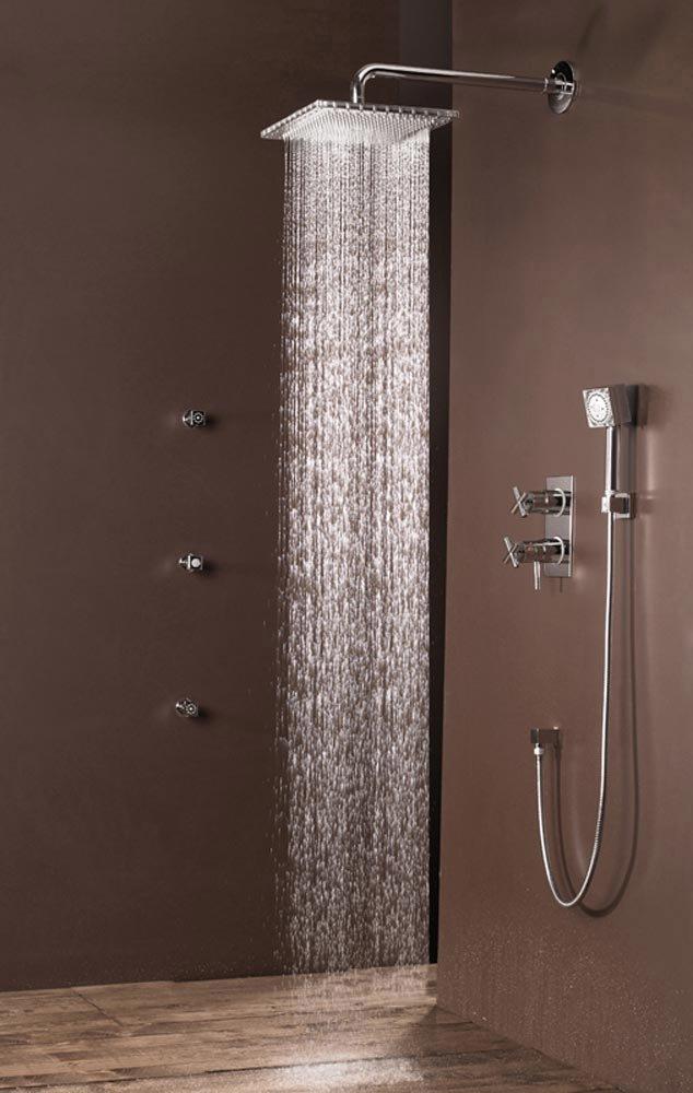 Bossini docce listino prezzi confortevole soggiorno for Pannelli doccia bricoman