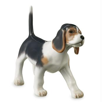 Statuetta Cucciolo di beagle by Royal Copenhagen Medio