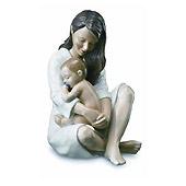 Statuetta Madre con bambino
