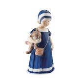 Statuetta Elsa con orsetto