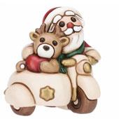 Statuetta Babbo Natale con doni